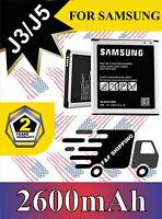 Battery For Samsung Galaxy J3 J5 2016 G550  J500 ON 5 EB-BG530CBU 2600mAh