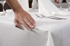 Duni Evolin Tischtuch 1,27 x 2,20 m Weiß Tischdecke Einweg Hochzeit  Deko