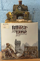 "Lilliput Lane Classics Village Sculpture ""OAK COTTAGE"" In Box 1993 UK With DEED"