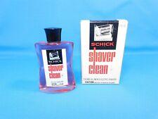 Vintage SCHICK Electric Shaver Cleaner 4 Fl Oz NOS