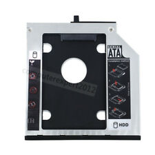 Bezel 2nd HDD SSD Hard Drive Caddy for IBM T400s T410s T500 X200 X230 43N3412