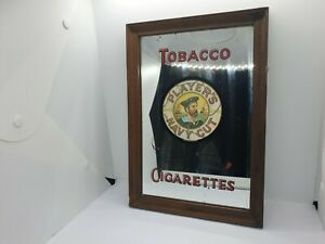 Vintage Player's Navy Cut Tobacco & Cigarettes Mirror Sign