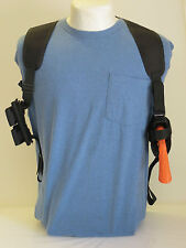 "Gun Shoulder Holster for RUGER SUPER ALASKAN 44 MAG 2 1/2"" Barrel Ammo Pouch"