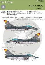 Bestfong Decal 1/48 F-16A 6677 in 401st TCW, 26th TFG R.O.C. (Taiwan) AF