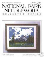 GRAND TETON NATIONAL PARK  Counted Cross Stitch Chart