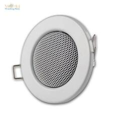Haut-parleur design halogène Blanc 60mm,Haut-parleur encastrable MINI 3W