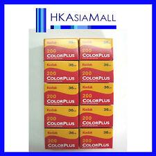 10 rolls Kodak Colorplus 35mm Film 36 Exp ISO 200 au FreeShipping