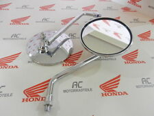 Honda CB 100 1x Rückspiegel Lenkerspiegel Spiegel Chrom Neu Mirror New M10