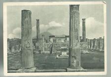 cartolina di pompei il tempio di venere