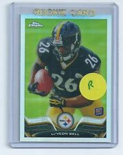 Le'Veon Bell 2013 Topps Chrome REFRACTOR Rookie Card #198 qty