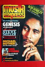BOB MARLEY COVER STRANGLERS SEX PISTOLS 1978 GENESIS BOB DYLAN GERMAN MAGAZINE
