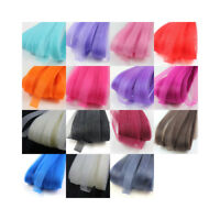 1cm CRINOLINE MILLINERY FLEXIBLE SINAMAY HORSE-HAIR BRAID WEDDING FASCINATOR