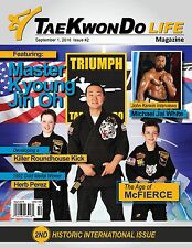 Tae Kwon Do Life Magazine- September 2016 Print Issue with Master Kyoung Jin Oh