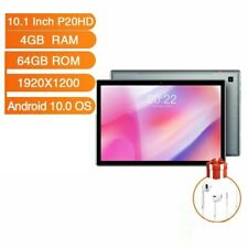 10.1 Inch Tablets Android 10.0 OS 4G Phone Call 4GB RAM 1920×1200 GPS 6000mAh