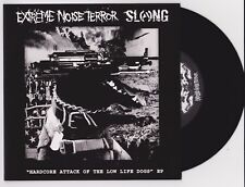 """Extreme Noise Terror / Slang – Hardcore Attack Of The Low Life EP 7"""" Vinyl New"""