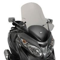 266DT GIVI Parabrezza per Suzuki Burgman 400 K7>K9/ L1>L6 2006 2007 2008 2009