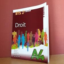 Arnaud  Droit BTS 2e année - 3e édition (Ed. Foucher Les Nouveaux A4)