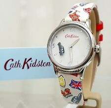 New CATH KIDSTON Ladies Watch Rotating Black Cab London Taxi Inspired RRP£79!
