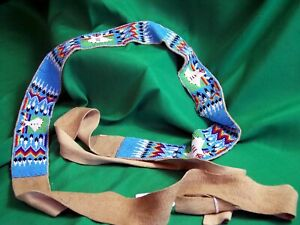Plains Indian Beaded Belt - Vintage & Beautiful!