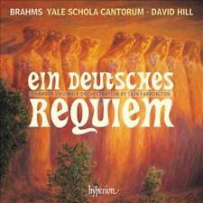 JOHANNES BRAHMS - EIN DEUTSCHES REQUIEM - YALE SCHOLA CANTORUM NEW CD