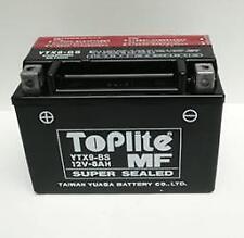 TOPLITE YUASA Motorrad Batterie YTX9BS 8AH