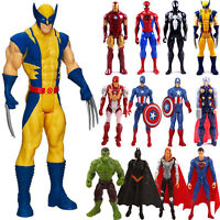 Marvel Avengers Super Hero Spiderman THOR Captain Wolverine Action Figures Toys