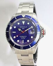 KIENZLE  Divemaster Automatik Herrenuhr/Taucheruhr Metall Armband  20BarW.R.