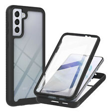 For Samsung A72 A52 A32 5G A51 A71 A21S Hrard 3 in 1 Case Cover+Screen Protector