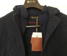 Loro Piana Cashmere Quilted Soft Jacket w/Windmate Insert Retail $3,895.00