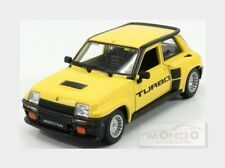 Renault R5 Turbo 1982 Yellow Black BURAGO 1:24 BU21088Y