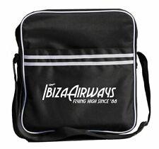 "Ibiza Airways Retro Messenger Bag - General Use + holds 12"" DJ Vinyl & more!"