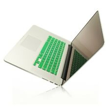 """GREEN Silicone Keyboard Cover for NEW Macbook Pro 15"""" A1398  with Retina display"""