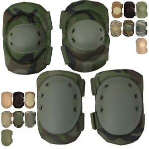Tactical Elbow /& Knee Pad Set For Sport And Protective Gear Hellstorm Neoprene