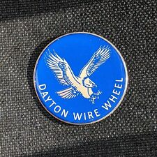 Blue Eagle Dayton Wire Wheel Chips Emblems Decals Set Of 4 Size 275in