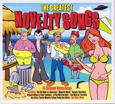 THE GREATEST NOVELTY SONGS - VARIOUS ARTISTS  (NEW SEALED 3CD)