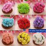 144PCS Colourfast Artificial Foam Rose Flowers Wedding Bride Bouquet Party  USA