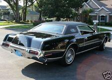1972 Lincoln Continental MARK IV, BLACK BEAUTY, Refrigerator Magnet