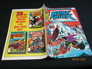 Marvel Classics Comics # 8 MOBY DICK (1976, Marvel) VF/NM
