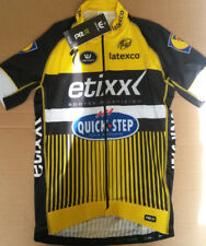 BNWT Vermarc Etixx Quickstep PRR cycle jersey. XL. full zip. Race fitting jersey