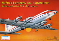 EASTERN EXPRESS 96001 AIRLINER BRISTOL 175 BRITANIA SCALE MODEL KIT 1/96 NEW