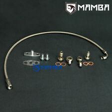 MAMBA Turbo Oil Feed Line For MAZDA RX-7 RX7 13B FC FD HT18S-2S or Garrett T3 T4