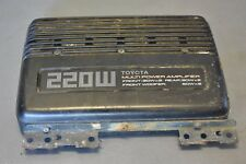 Toyota Celica All-Trac 220W Amplifier Amp ST185 T180 89-93 OEM 86280-20200