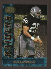 Napoleon Kaufman Rookie Card--1995 Bowman's Best Football--Oakland Raiders