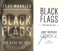 Joby Warrick~SIGNED~Black Flags: The Rise of Isis~1st/1st~2016 Pulitzer Winner!