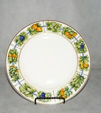 Dibbern fine Bone China Ranke Trauben Quitten Speiseteller 26,5 cm Top Zustand