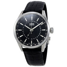 Oris Artix Pointer Moon Black Dial Mens Watch 761-7691-4054LS