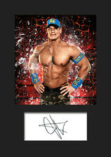 JOHN CENA #3 (WWE) Signed Photo A5 Mounted Print - FREE DELIVERY