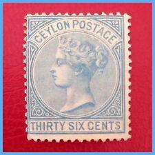 Mint Hinged Decimal Ceylon Stamps (Pre-1948)