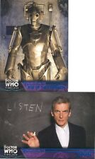 2 Doctor Who Timeless Blue Foil Parallel Cards 83/99 50 95 Rise Of The Cybermen