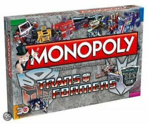 Monopoly Transformers Retro (by Winning Moves) 022484